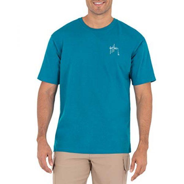 Guy Harvey Graphic Tshirt 2 Mens Freshwater Fish Collection Short Sleeve T-Shirt