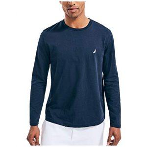 Nautica Graphic Tshirt 1 Men's J-Class Logo Long Sleeve T-Shirt