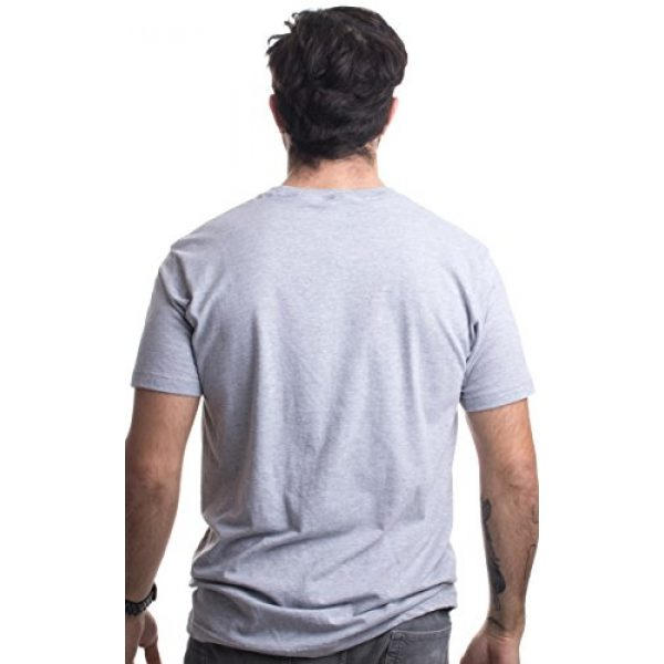 Ann Arbor T-shirt Co. Graphic Tshirt 5 Top Dad   Funny 80s Father Humor Movie Gun 1980s Military Air Force Men T-Shirt