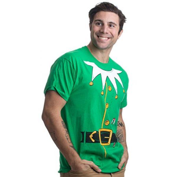 Ann Arbor T-shirt Co. Graphic Tshirt 2 Santa's Elf Costume   Jumbo Print Novelty Christmas Holiday Humor Unisex T-Shirt