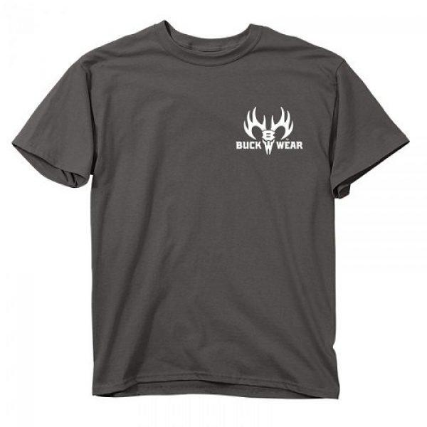 Buck Wear Inc Graphic Tshirt 3 Buck Wear Men's Ban Idiots not Guns 'Merica T-Shirt