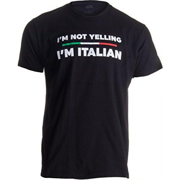 Ann Arbor T-shirt Co. Graphic Tshirt 1 I'm Not Yelling, I'm Italian | Funny Italy Joke Italia Loud Family Humor T-Shirt