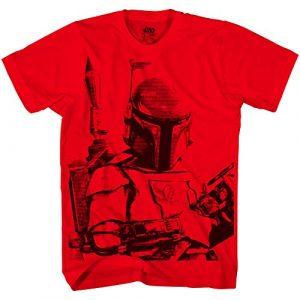 Star Wars Graphic Tshirt 1 Boba Fett Sarlaac Bait Mens T-shirt
