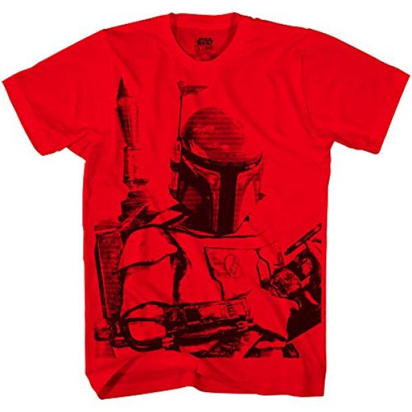 Star Wars Graphic Tshirt 1 Boba Fett Sarlaac Bait Mens T-shirt