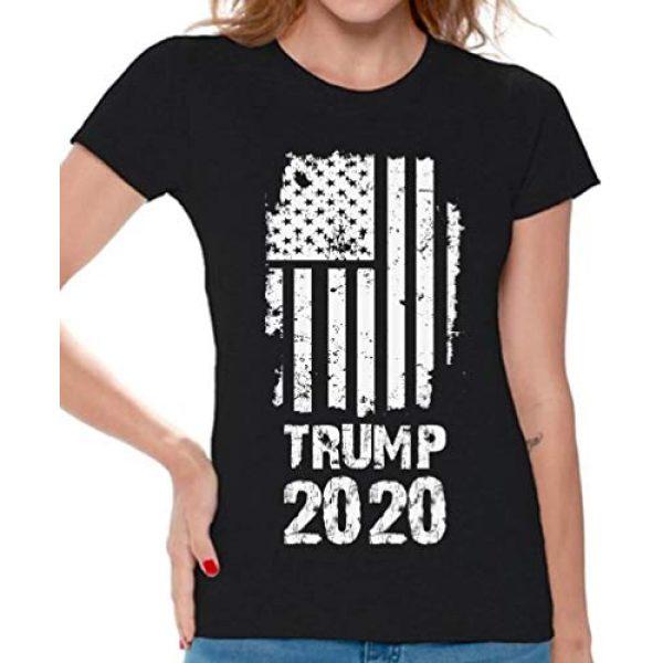Awkward Styles Graphic Tshirt 1 Trump 2020 Shirt Donald Trump T Shirt Women Republican Gifts