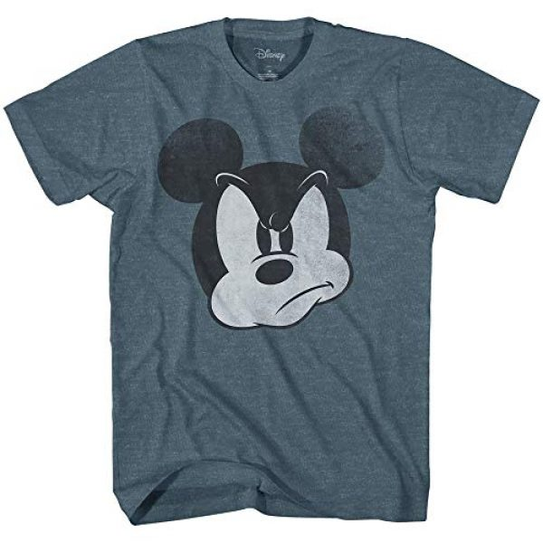 Disney Graphic Tshirt 1 Mad Mickey Mouse Graphic Tee Classic Vintage Disneyland World Mens Adult Tee Graphic T-Shirt for Men Tshirt
