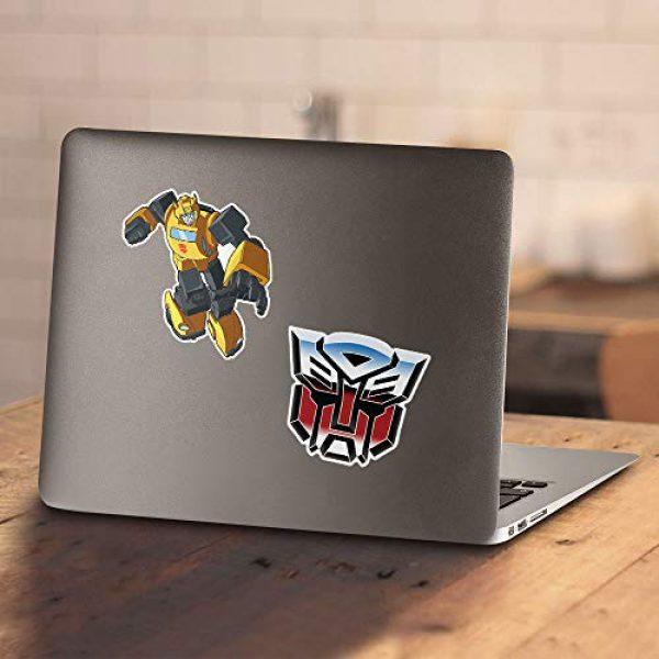 Popfunk Graphic Tshirt 4 Transformers Bumblebee T Shirt & Stickers