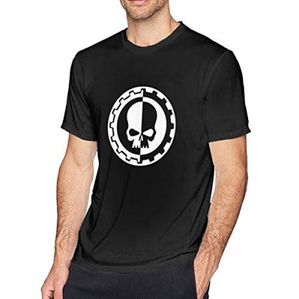 DEMISCHO Graphic Tshirt 1 Urheen W-arhammer 40k Men's T-Shirt,Short Sleeve Novelty 3D Printed Summer Casual Fashion Top