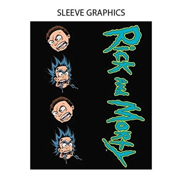 Ripple Junction Graphic Tshirt 2 Rick and Morty Character Collage Long Sleeve