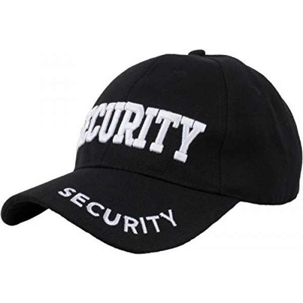 Ann Arbor T-shirt Co. Graphic Tshirt 4 Security Hat & T-Shirt Bundle | Matching Security Guard Officer Uniform Kit