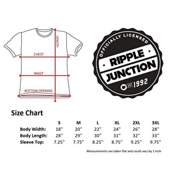 Ripple Junction Graphic Tshirt 6 The Goonies Captain's Wheel Adult T-Shirt