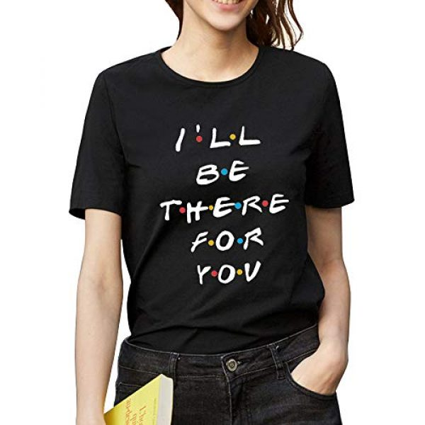 ZSIIBO Graphic Tshirt 2 Women's Casual T Shirt Funny Letter Print Graphic Tees Cute Tops