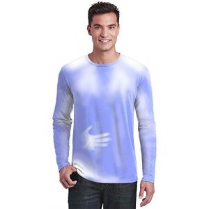 Shadow Shifter Graphic Tshirt 1 Adult Unisex Color Changing Long Sleeve T-Shirt Heat Sensitive