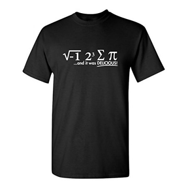 Feelin Good Tees Graphic Tshirt 1 I Ate Some Pi Day It was Delicious Math Sarcastic Humor Funny Graphic T Shirt