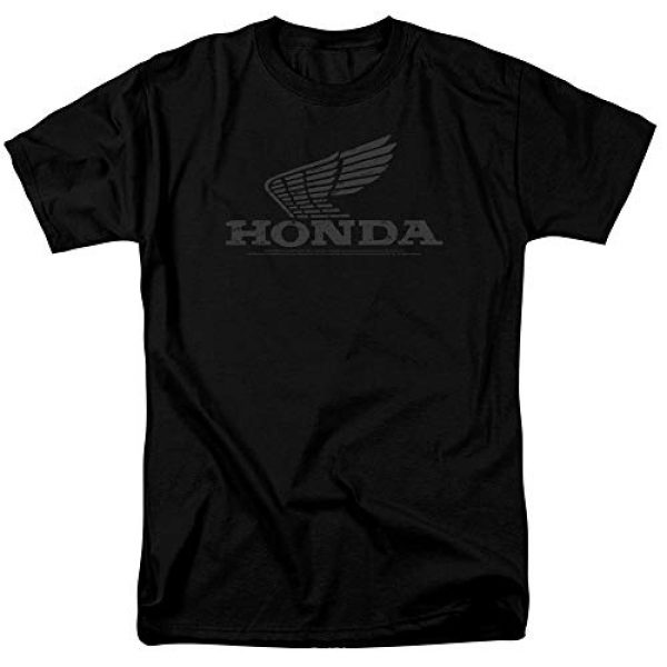 Trevco Graphic Tshirt 1 Honda Vintage Wing Unisex Adult T Shirt for Men and Women