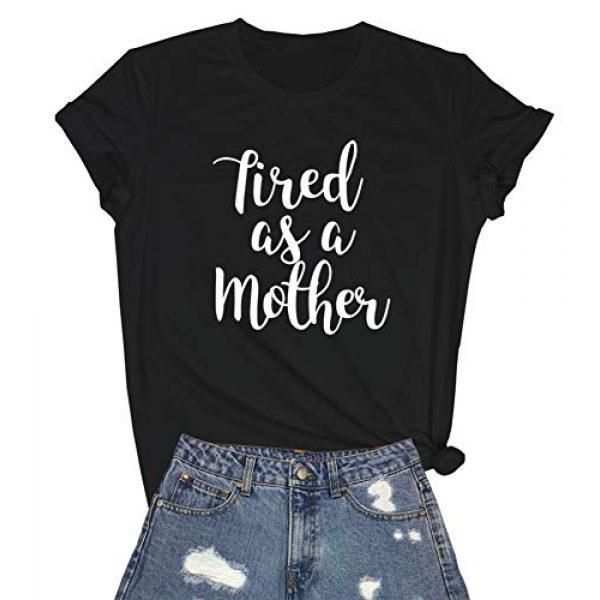 YITAN Graphic Tshirt 1 Women Cute Graphic T Shirts Teen Girls Summer Funny Tops