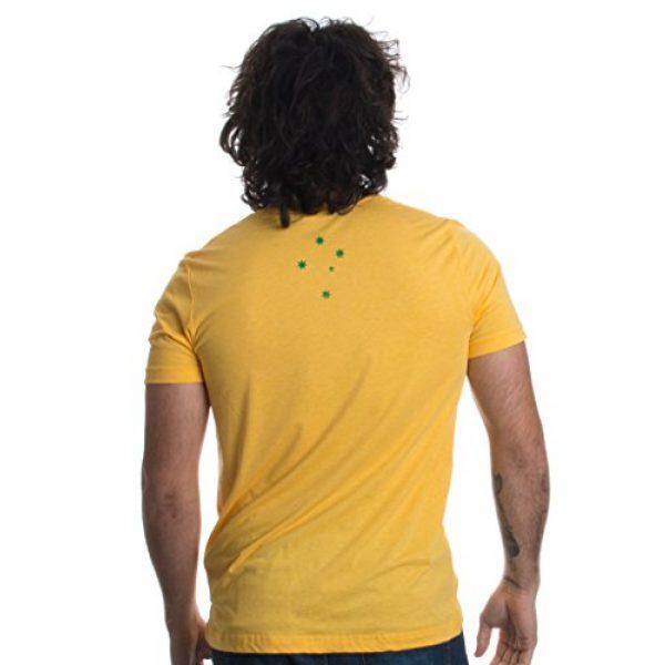 Ann Arbor T-shirt Co. Graphic Tshirt 2 Vintage Style Australia   Aussie Roo + Southern Cross Unisex Triblend T-Shirt