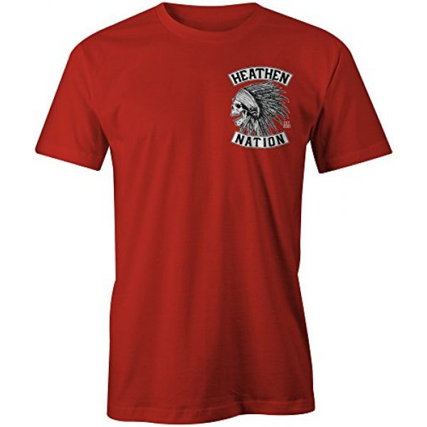 Heathen Graphic Tshirt 2 Red Chief T-Shirt