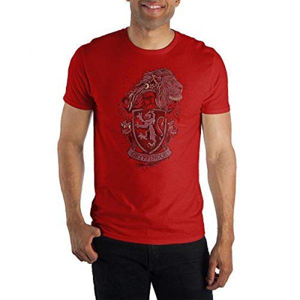 Bioworld Graphic Tshirt 1 Harry Potter House Gryffindor Coat of Arms Short-Sleeve T-Shirt-Medium