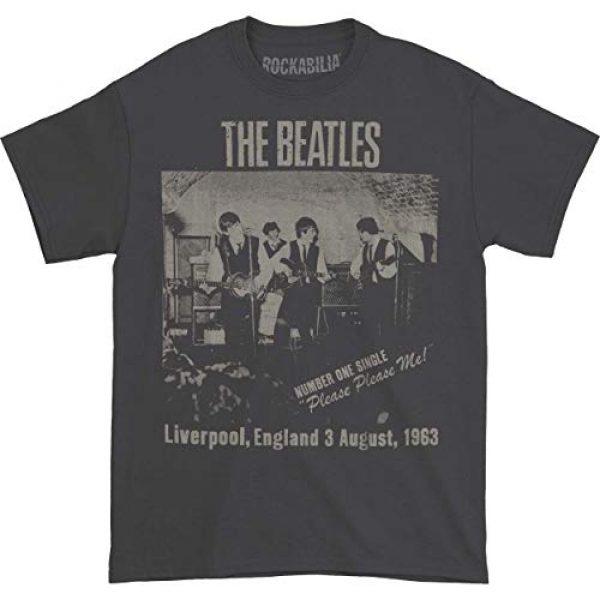 Beatles Graphic Tshirt 1 Men's Cavern Club T-Shirt Grey