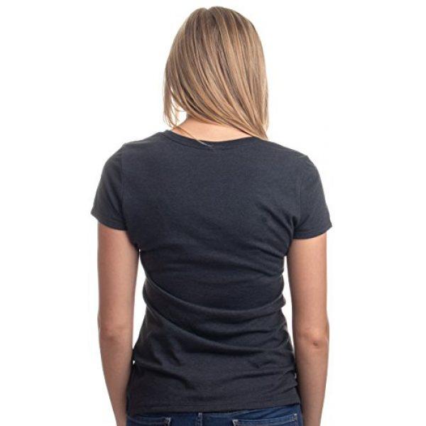 Ann Arbor T-shirt Co. Graphic Tshirt 4 Red Linda Glasses Cat | Sassy Funny Kitty Belcher Cute V-Neck T-Shirt for Women