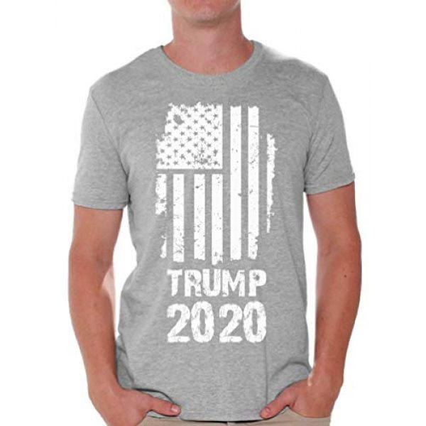Awkward Styles Graphic Tshirt 1 Trump T Shirt Trump Flag Men's Shirt Political Shirts Trump Gifts