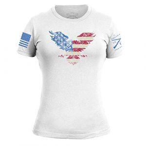 Grunt Style Graphic Tshirt 1 Freedom Eagle Women's T-Shirt