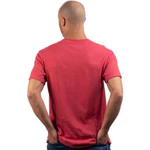 Ann Arbor T-shirt Co. Graphic Tshirt 4 Detroit | Classic Retro City Grey Blue Red Black Detroiter 313 Cool Michigan Men Women T-Shirt