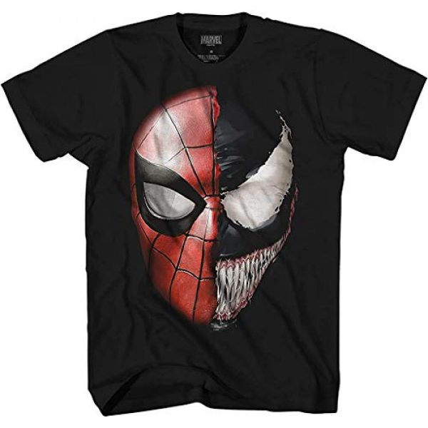 Marvel Graphic Tshirt 1 Venom Spidey Faces Spiderman Avengers Villain Comic Book Adult Tee Graphic T-Shirt for Men Tshirt