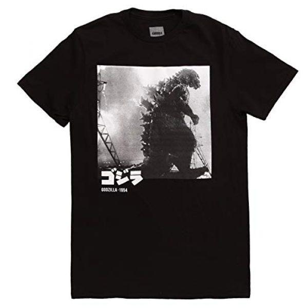 Bioworld Graphic Tshirt 1 Godzilla 1954 Black and White Adult T-Shirt