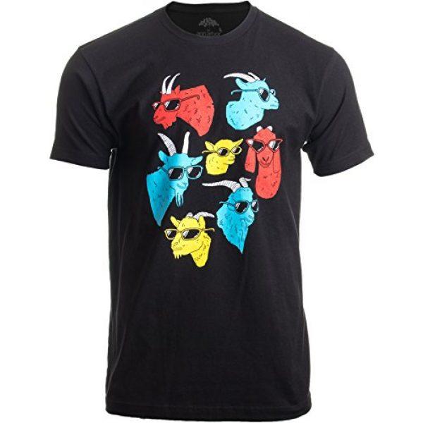 Ann Arbor T-shirt Co. Graphic Tshirt 1 Goat Shirt | Funny Cool Farm Animal 4H Billy Pygmy Crazy for Men Women T-Shirt
