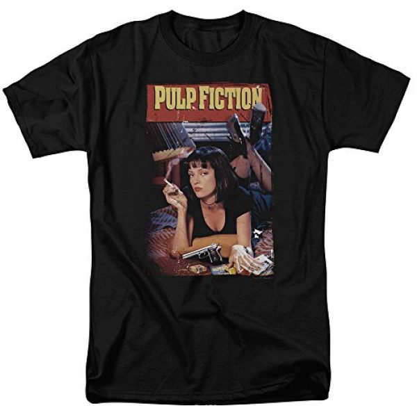 Trevco Graphic Tshirt 1 Pulp Fiction Poster Unisex Adult T Shirt for Men and Women