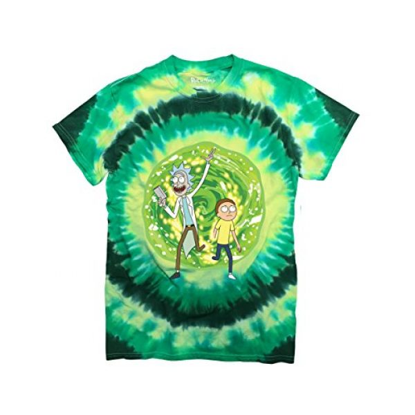 Ripple Junction Graphic Tshirt 1 Rick and Morty Large Portal Adult T-Shirt