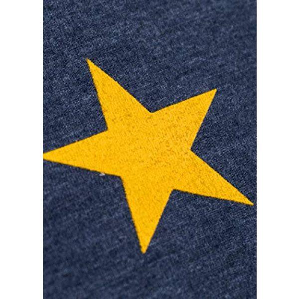 Ann Arbor T-shirt Co. Graphic Tshirt 5 Alaskan Flag | Alaska Pride Northern Lights Big Dipper V-Neck T-Shirt for Women