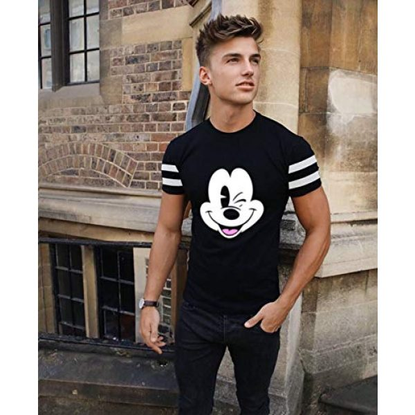 Miracle TM Graphic Tshirt 6 Minnie Shirts for Women - Men Mickey Graphic Tees Gifts T Shirt