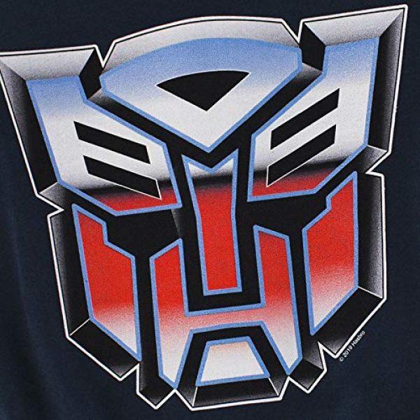 Popfunk Graphic Tshirt 5 Transformers Autobot Airbrush Logo T Shirt & Stickers