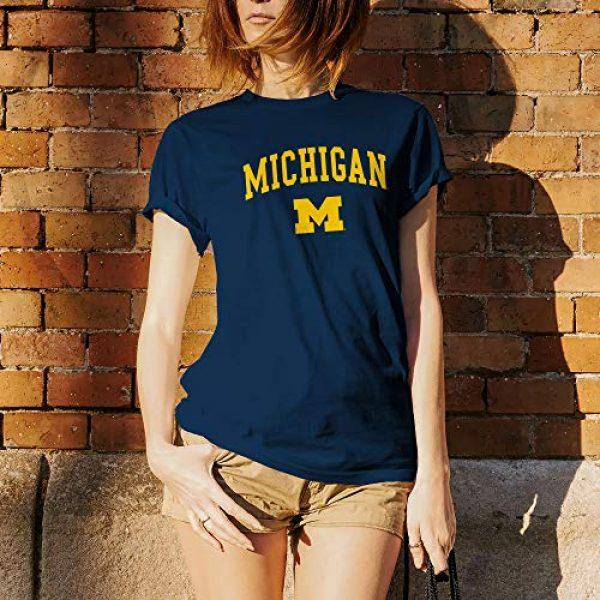 UGP Campus Apparel Graphic Tshirt 5 NCAA Arch Logo, Team Color T Shirt, College, University