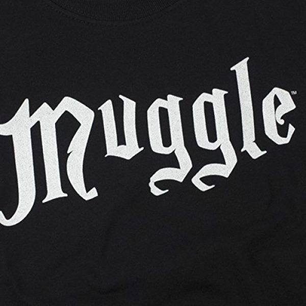 Popfunk Graphic Tshirt 5 Harry Potter Black Muggle T Shirt & Stickers