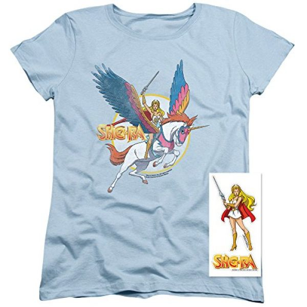 Popfunk Graphic Tshirt 2 She-Ra and Swiftwind Women's T Shirt & Stickers