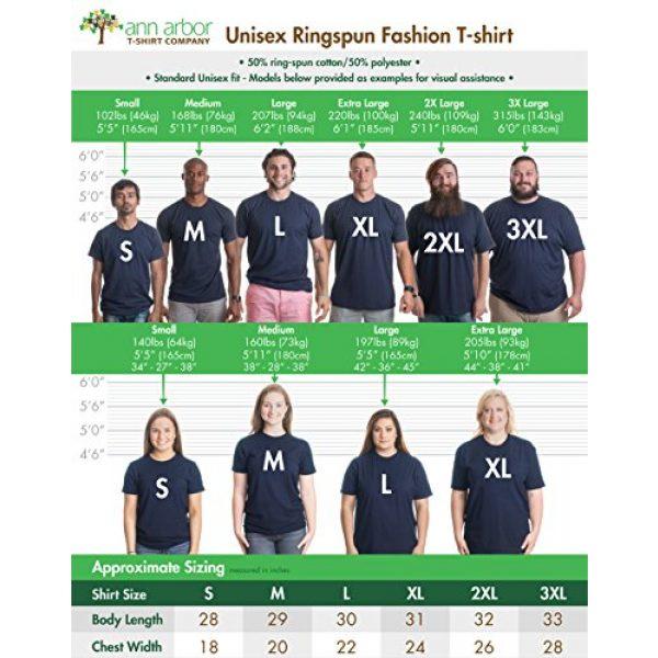 Ann Arbor T-shirt Co. Graphic Tshirt 6 South Carolina Flag | Palmetto Moon Carolinian SC Charleston Men Women T-Shirt