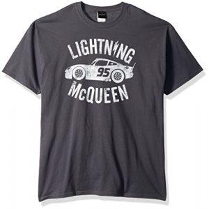 Disney Graphic Tshirt 1 Men's Cars 3 Lightning McQueen Graphic T-Shirt
