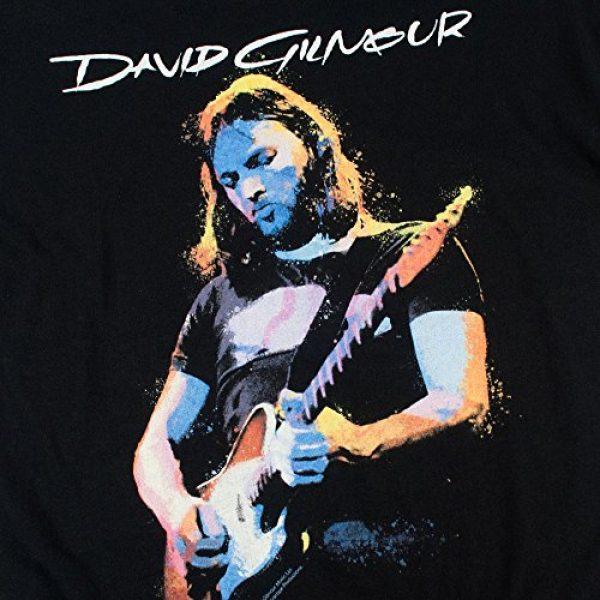 Popfunk Graphic Tshirt 5 David Gilmour Pink Floyd Guitar T Shirt & Stickers