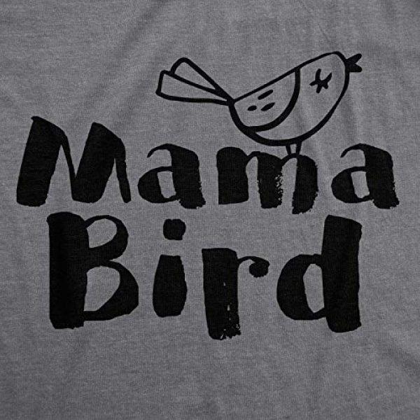 Crazy Dog T-Shirts Graphic Tshirt 2 Womens Mama Bird Funny T Shirt Family Idea Novelty for Mom