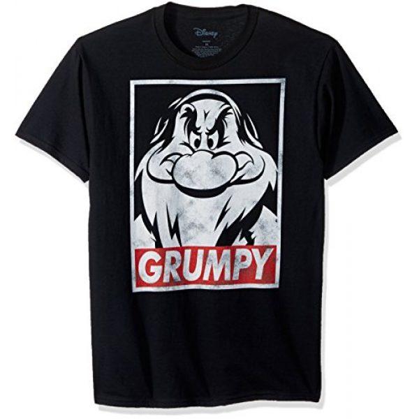 Disney Graphic Tshirt 1 Men's Snow White and Seven Dwarfs Grumpy Graphic T-Shirt