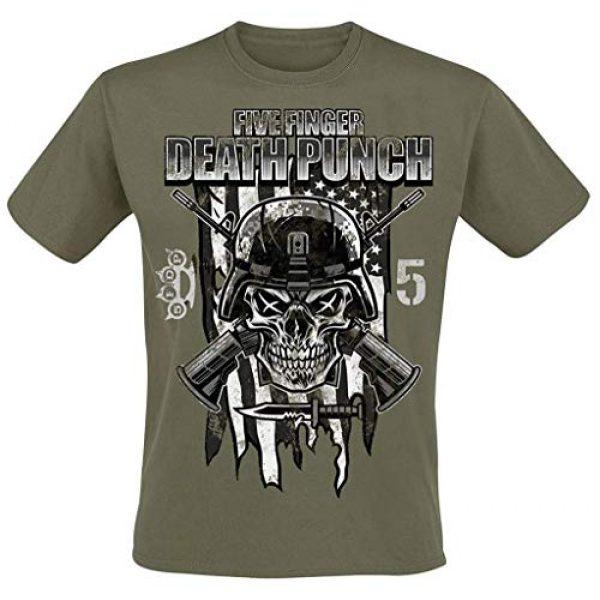Global Graphic Tshirt 1 Five Finger Death Punch Men's Infantry Special Forces T-Shirt