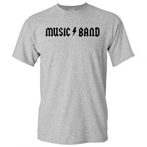 UGP Campus Apparel Graphic Tshirt 1 Music Band - Funny Rock Metal Band Parody Fellow Kids Meme T Shirt