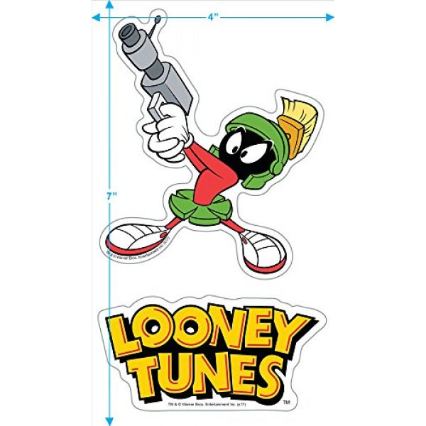Popfunk Graphic Tshirt 3 Looney Tunes Marvin Helmet T Shirt & Stickers