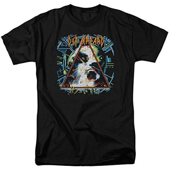 Popfunk Graphic Tshirt 2 Def Leppard Hysteria 80s Rock Album T Shirt & Stickers