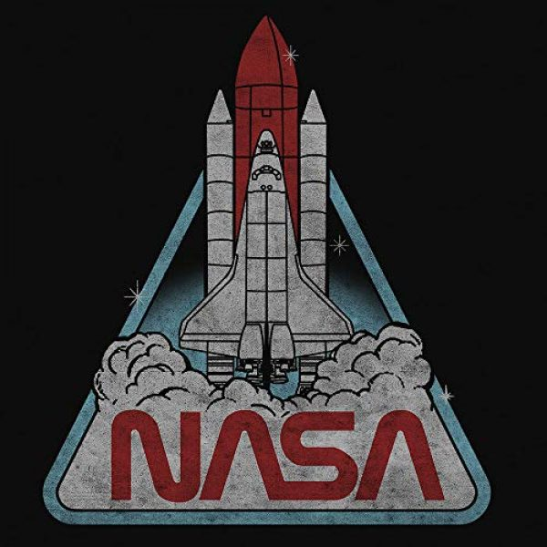 Tee Luv Graphic Tshirt 2 Women's NASA Logo Shirt - NASA Space Shuttle Graphic Tee Shirt