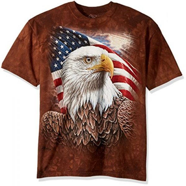 The Mountain Graphic Tshirt 1 Independence Eagle T-Shirt